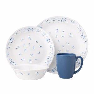 Corelle Livingwware Provincial Blue 16 - piece Set (service for 4) - Walmart.com