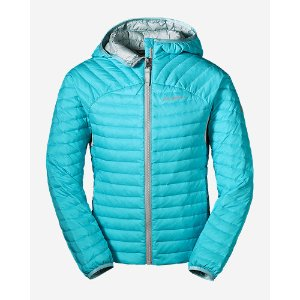Girls' Microtherm Hooded Jacket | Eddie Bauer