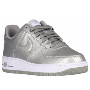 Nike Air Force 1 LV8 - Men's - Basketball - Shoes - Metallic Silver/White/Metallic Silver