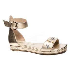 Chinese Laundry Grady Metallic Flat Sandal | Chinese Laundry