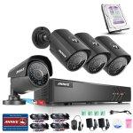Annke 内置1TB + 4 960P摄像监控豪华套装