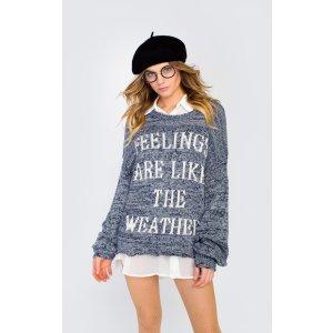 Feelings Junior Sweater