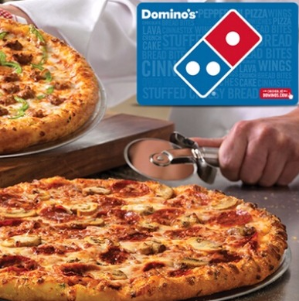 $10 半价优惠Groupon 价值$20的 Domino's礼品卡优惠