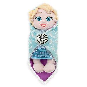 Disney's Babies Elsa Plush Doll and Blanket - Small - 10'' | Disney Store