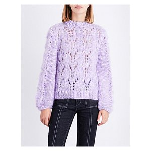 Julliard wool and mohair-lend sweater