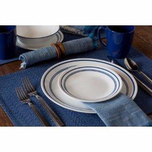 Corelle Livingware 16-Piece Dinnerware Set, Classic Cafe Blue - Walmart.com