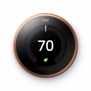 Nest Copper Learning 3rd Generation Thermostat with Built-In WiFi