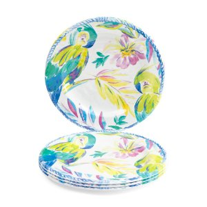 4pk Outdoor Aloha Cream Plates - Outdoor - T.J.Maxx