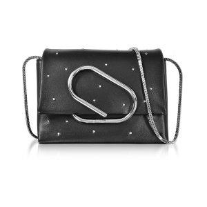 3.1 Phillip Lim Alix Black Leather Micro Crossbody Bag