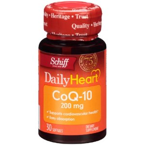 Schiff Daily Heart CoQ-10 200 mg Supplement, 30 Ct | Jet.com