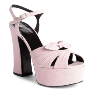 Saint Laurent Candy Platform Sandal