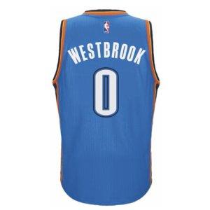 adidas NBA Revolution 30 Swingman Jersey - Men's - Clothing - Oklahoma City Thunder - Blue