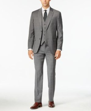 Up to 85% OffCalvin Klein, Perry Ellis, Tommy Hilfiger Men's Suit