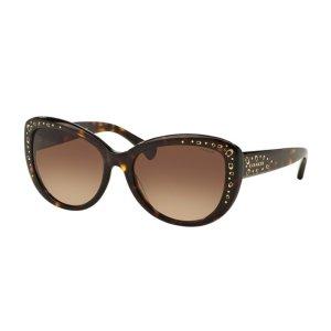 Coach Dark Brown Gradient Cat Eye Sunglasses - Coach - Sunglasses - Jomashop
