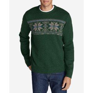 Snow Bridge Crew Sweater