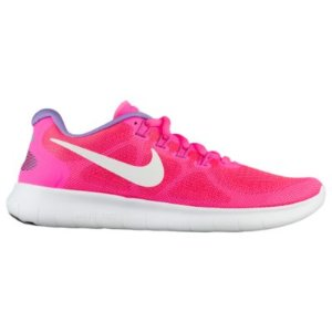 Nike Free RN 2017 - Women's - Running - Shoes - Racer Pink/Off White/Pink Blast/Bright Mango