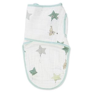 aden + anais® Up Up & Away Swaddle in White