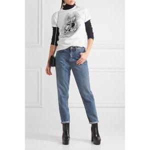 McQ Alexander McQueen | Printed cotton-jersey T-shirt