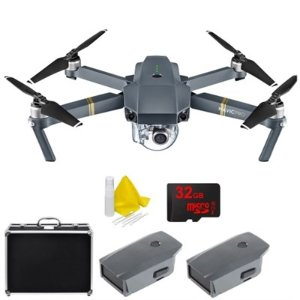 $999DJI Mavic Pro Deluxe Bundle with Custom Carry Case, 32GB Card and 2 DJI Batteries