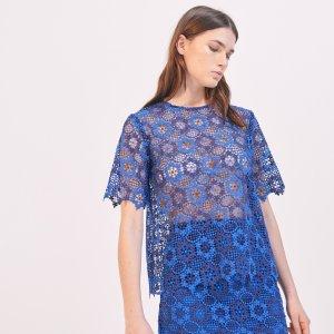 Floral Lace Top - Tops & Shirts - Sandro-paris.com