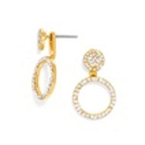 Champagne Ear Jackets | BaubleBar