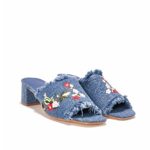 Grass Roots Embroidered Mule   Shop Clothes at Nasty Gal!