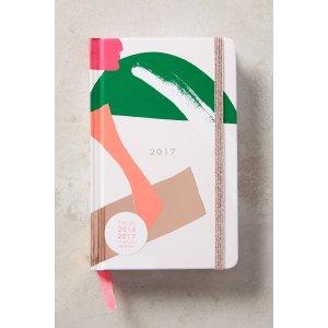 Bonheur 2016/2017 Planner | Anthropologie