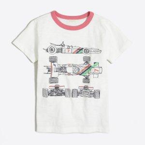 Boys' racecar lines storybook T-shirt : Knits & T-Shirts | J.Crew Factory