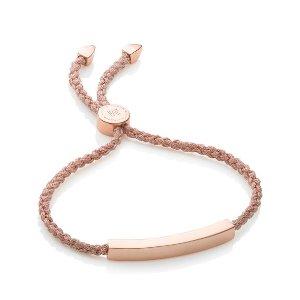 Monica Vinader Linear Chain Bracelet |