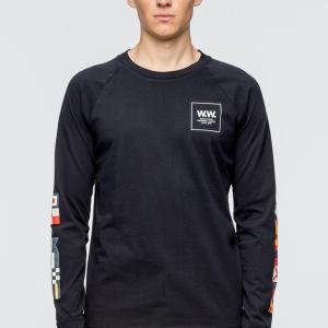Wood Wood - Han Long Sleeve T-Shirt   HBX