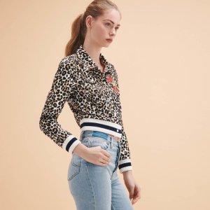 VESPER Short leopard-print jacket