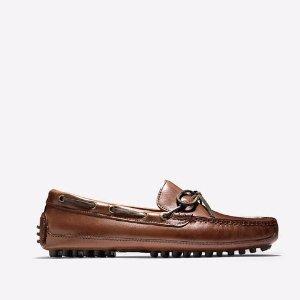 Mens Grant Driver in Papaya : Mens Shoes | Cole Haan