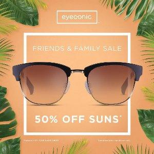 50% off Ferragamo, MCM, Chloe & YSL sunglasses @ Eyeconic