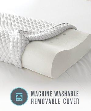 Dream Science by Martha Stewart Memory Foam Pressure Point Relief Contour Pillow