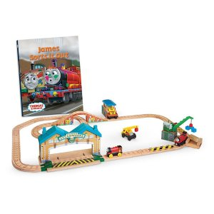 Thomas & Friends Wooden Railway James Sorts It Out Set | CCX61 | Fisher-Price