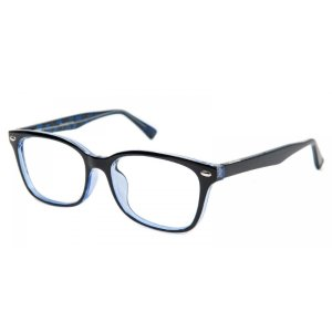 Hyannis Rectangle - Blue Eyeglasses | GlassesShop.com