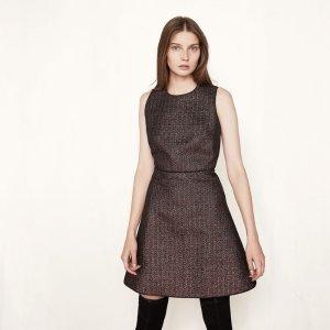 RONY Lurex dress - Dresses - Maje.com