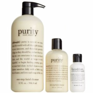 $55( $87 Value)Philosophy Purity Made Simple Cleanse & Smooth Trio @ Nordstrom