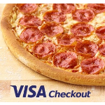 Papa John's Buy Pizza via Visa Checkout