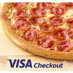 Papa John's Buy Pizza via Visa Checkout