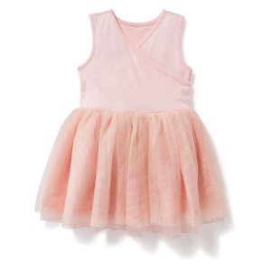 Cross-Front Tutu Dress for Baby