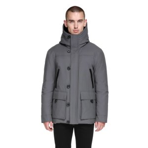 CRAWFORD HIP LENGTH HEAVY WINTER DOWN COAT