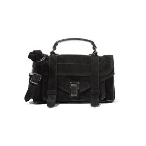 The PS1 mini suede shoulder bag | Proenza Schouler