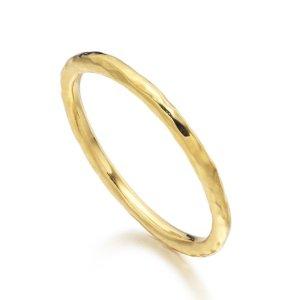 Hammered Ring | Monica Vinader
