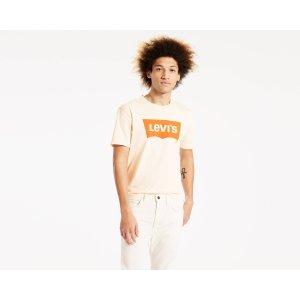 Orange Tab Housemark Tee | Chalky White |Levi's® United States (US)