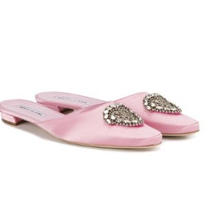 Manolo Blahnik Okkato Slippers - Farfetch