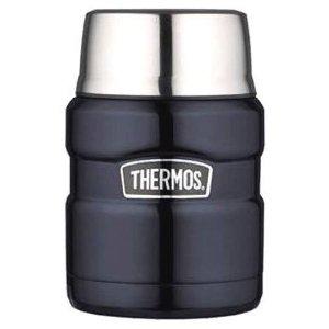 膳魔师Thermos King系列16盎司食物保温罐 蓝色