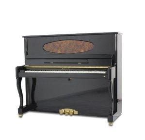 秒杀包邮到手价为¥16999(原价¥27000)XINGHAI 星海钢琴 巴赫朵夫BU-21 立式专业演奏钢琴121 黑色原色钢琴