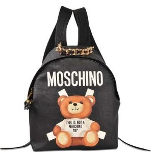 Toy Backpack Moschino Black