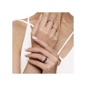 Rose Gold Wishbone Ring